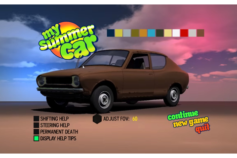 Indie game My Summer Car hits 1.5 Million Euros worth of ...