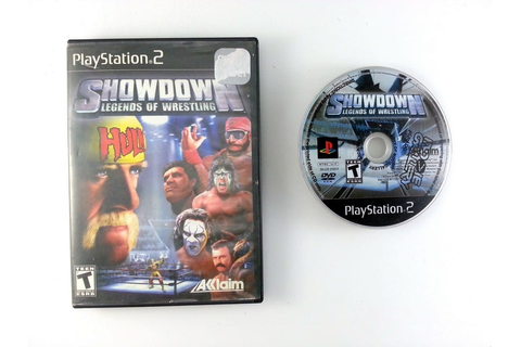 Showdown Legends of Wrestling game for Playstation 2 | The ...