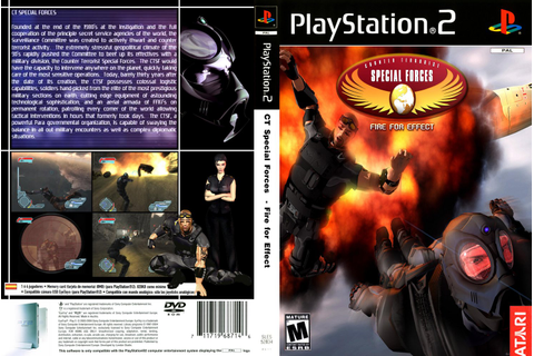 End PS2 Games Melhor Blog de PS2: CT Special Forces: Fire ...