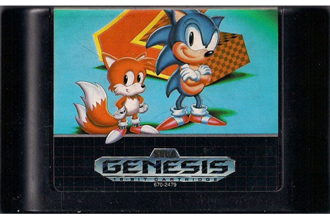 Sonic the Hedgehog 2 (1992) Genesis box cover art - MobyGames