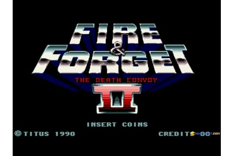 Fire and Forget 2 gameplay (PC Game, 1990) - YouTube