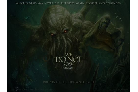 PRIESTS OF THE DROWNED GOD Cthulhu... - agot | Cthulhu