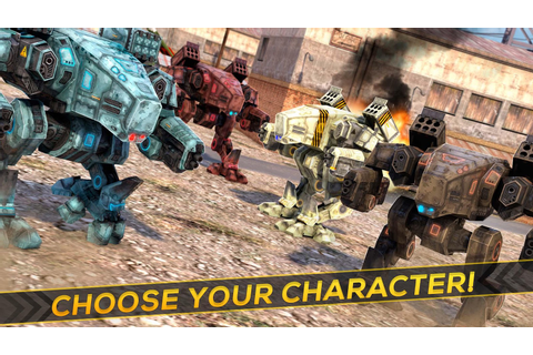 Robots Tanks of War - Transformation Fighting - Android ...