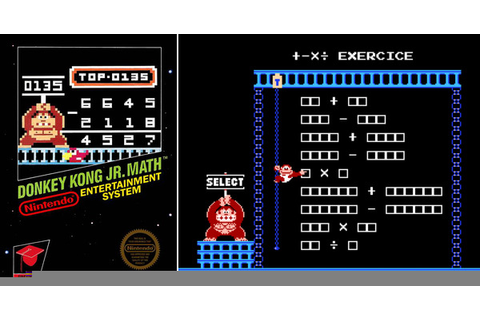Play Donkey Kong Jr. Math on NES