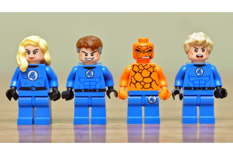 My Brick Store: Lego Fantastic Four by Decool