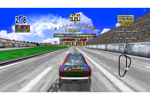 Daytona USA Review (PS3) | Push Square