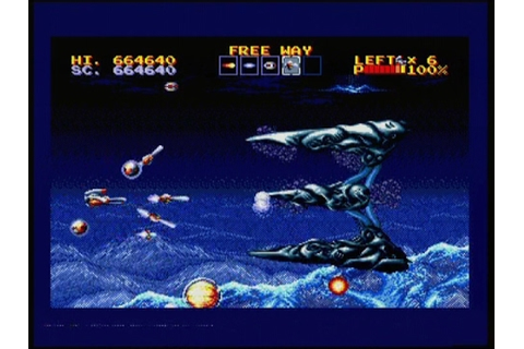 THUNDER FORCE IV (MEGADRIVE - FULL GAME) - YouTube