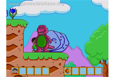 Barney's Hide and Seek Game - Sega Genesis - Games Database
