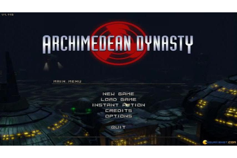 Archimedean Dynasty gameplay (PC Game, 1996) - YouTube