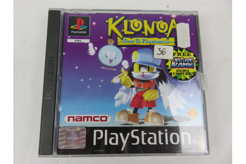 Klonoa: Door to Phantomile : Playstation game with free ...