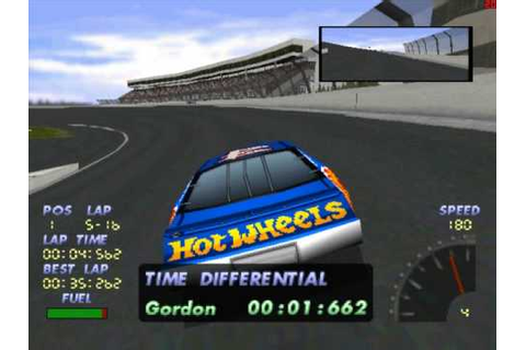 Lets play PS1 games NASCAR 98 part 1 - YouTube
