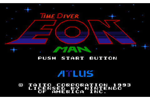 Time Diver Eon Man -NES/FC- Supposed Title Screen by ...