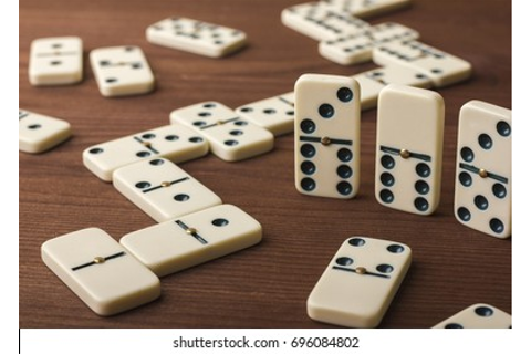 Playing Dominoes Game Images, Stock Photos & Vectors ...
