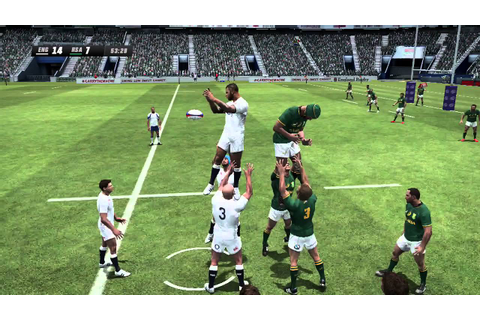 Rugby Challenge 3 Gameplay - England vs South Africa ...