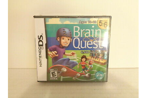 2006 EA Brain Quest Grades 5 & 6 Nintendo DS Game MIP | eBay