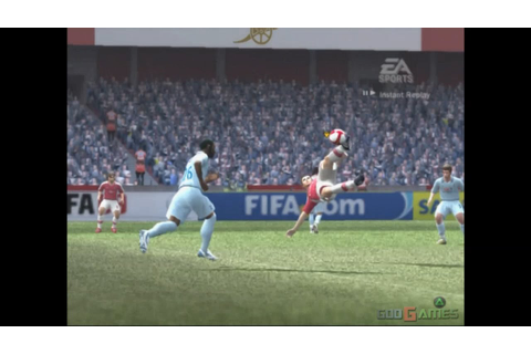 Fifa 09 - Gameplay PS2 (PS2 Games on PS3) - YouTube