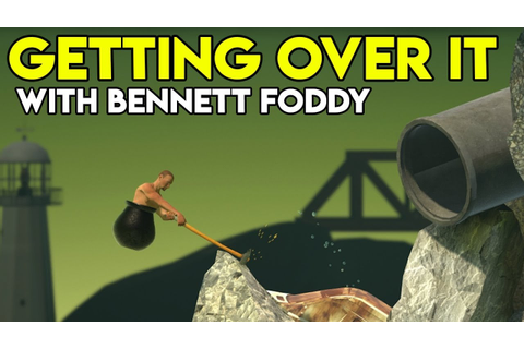 TORTURING MYSELF | Getting Over It With Bennett Foddy ...