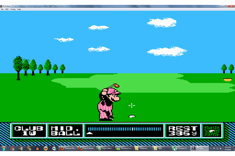 NES Open Tournament Golf (USA) ROM