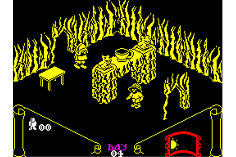 Knight Lore Screenshots for ZX Spectrum - MobyGames
