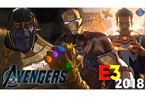 New Avengers Game Reveal at E3 2018?! - YouTube