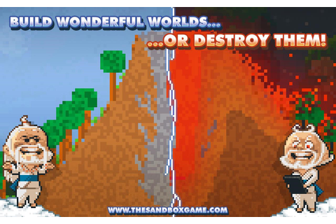 [New Game] Creation Game The Sandbox Is Live, Pixelated ...