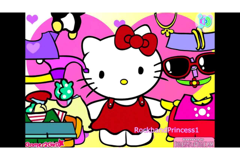 Hello Kitty Online Games Hello Kitty Clothing Dress Up ...