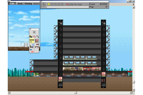 SimTower Download (1994 Simulation Game)