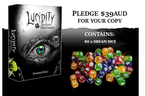 Lucidity dice game on Kickstarter | Scent of a Gamer