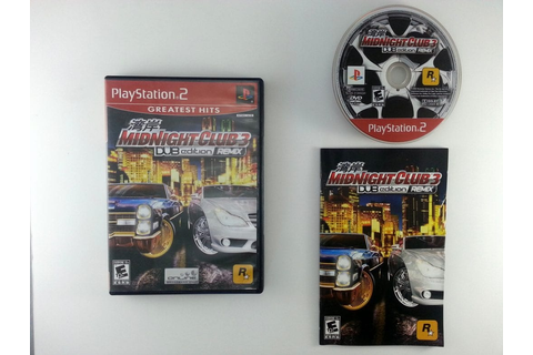 Midnight Club 3 Dub Edition Remix game for Playstation 2 ...