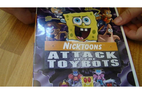 Nicktoons Attack of the Toybots wii game by Spiderman ...