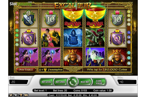 Excalibur Slot ᐈ Claim a bonus or play for free!