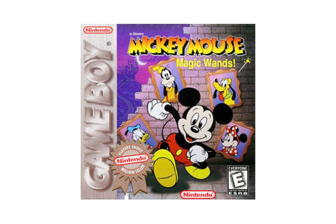 Mickey Mouse: Magic Wands - Nintendo Game Boy