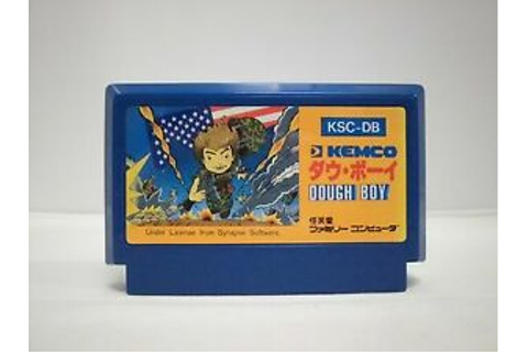 NES -- DOUGH BOY -- Famicom. Action. Japan game. Work to ...
