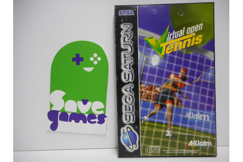 Virtual Open Tennis - Save Games