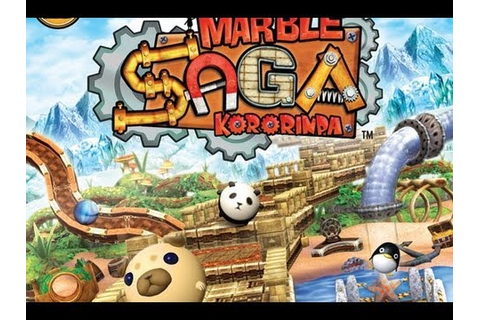CGRundertow MARBLE SAGA: KORORINPA for Nintendo Wii Video ...