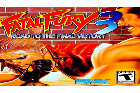 Fatal Fury 3 - Road to the Final Victory (Arcade) - YouTube