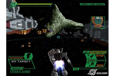 Mobile Suit Gundam Encounters in Space PS2 ISO - isoroms.com
