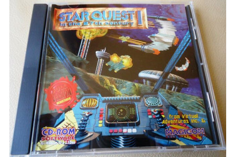Star Quest 1 in the 27th Century PC Game - Space Combat ...