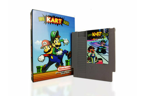 Super Mario Kart Fighter - Nintendo NES Game With Box | eBay