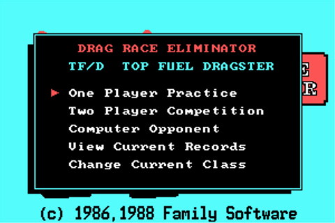 Download Drag Race Eliminator - My Abandonware