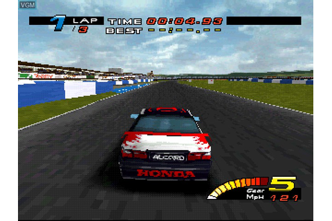 TOCA Touring Car Championship for Sony Playstation - The ...