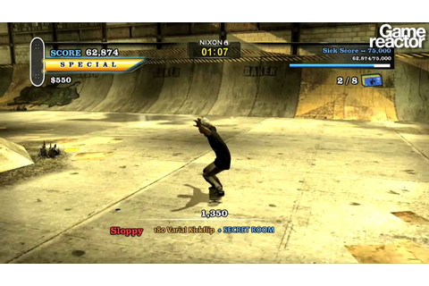 Tony Hawk's Pro Skater HD - Nyjah Huston Gameplay - YouTube