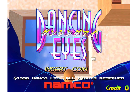 Dancing Eyes (1996) Arcade game