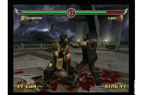 Mortal Kombat Deadly Alliance - Gameplay - Playstation 2 ...