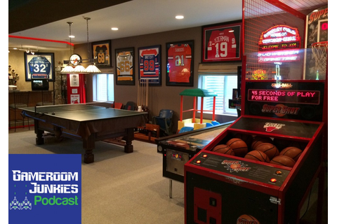 This Sports Fanatic's Gameroom is a Home Run - Gameroom ...