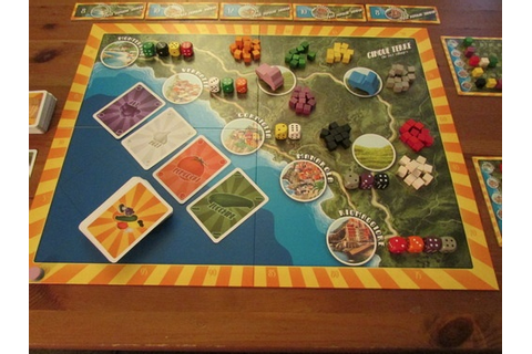 Cinque Terre Review | Board Game Reviews by Josh