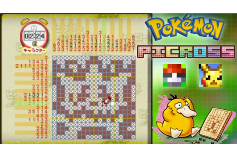 Gotta Solve 'Em All in Pokemon Picross