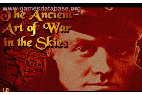 Ancient Art of War in the Skies - Atari ST - Games Database