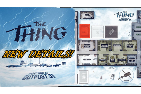 The Thing Board Game - New Details | Roll For Crit - YouTube
