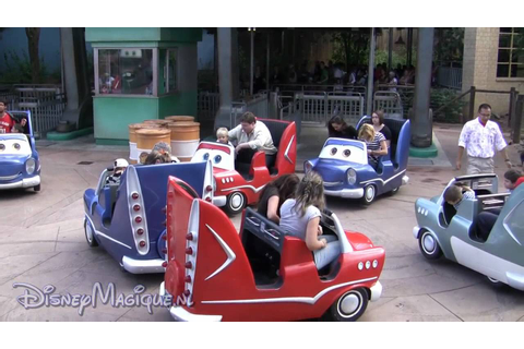 Cars Quatre Roues Rallye (Disneyland Paris) - YouTube